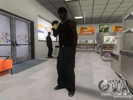 Reality GTA v2.0 para GTA San Andreas por diante tela