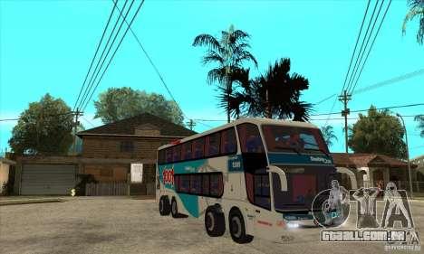 Marcopolo Paradiso 1800 G6 8x2 para GTA San Andreas vista traseira