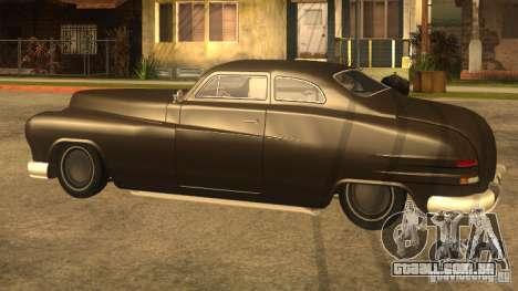 Hermes HD para GTA San Andreas traseira esquerda vista