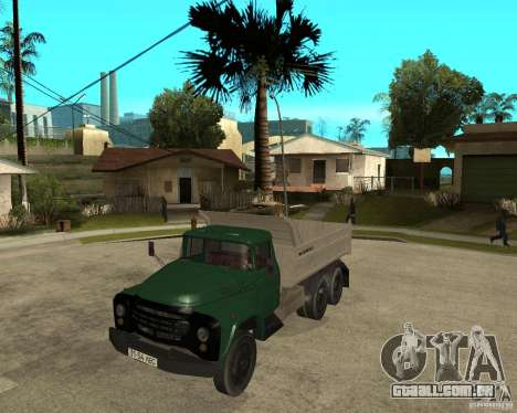 Caminhão ZIL 133 para GTA San Andreas