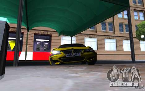 BMW M5 Gold Edition para GTA San Andreas vista superior