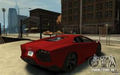 Lamborghini Reventon Coupe para GTA 4 vista direita