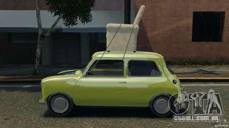 Mini Cooper para GTA 4 esquerda vista