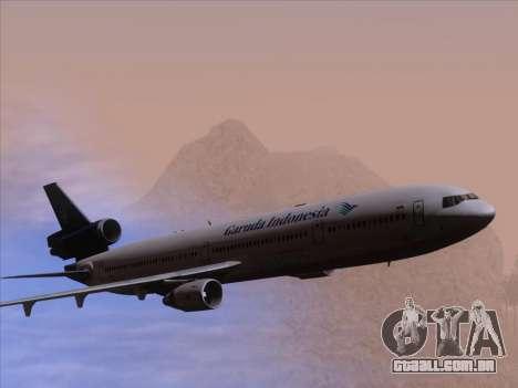 McDonnell Douglas MD-11 Garuda Indonesia para o motor de GTA San Andreas