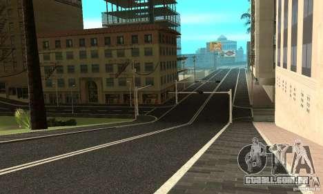 Uma nova superfície de estrada (superfície) para GTA San Andreas terceira tela