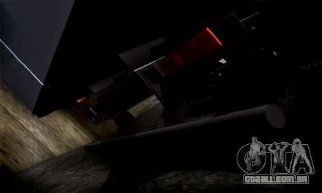 Volvo F10 para GTA San Andreas vista interior