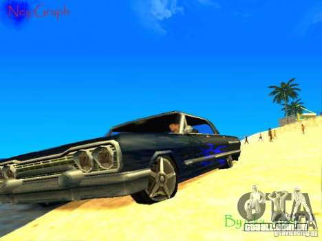 O novo gráfico por jeka_raper para GTA San Andreas por diante tela