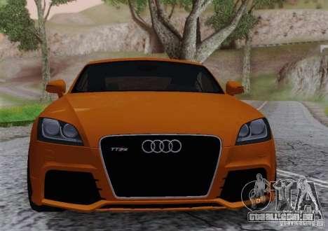 Audi TT-RS Coupe para GTA San Andreas vista direita