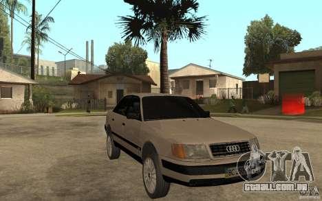 Audi 100 C4 1992 para GTA San Andreas vista traseira