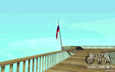 A bandeira da Rússia no Chiliad para GTA San Andreas