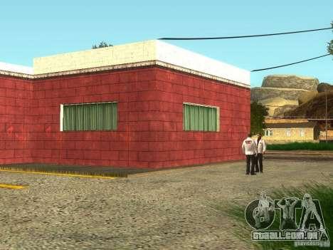 Renovação do hospital em Fort Carson para GTA San Andreas