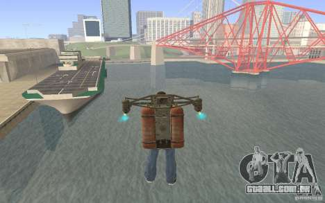 Jetpack no estilo da URSS para GTA San Andreas terceira tela