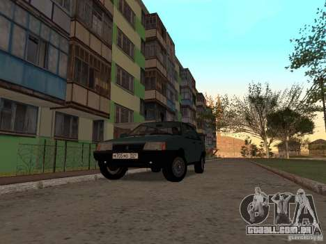 VAZ 21099 CR v. 2 para GTA San Andreas