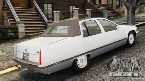 Cadillac Fleetwood 1993 para GTA 4 esquerda vista