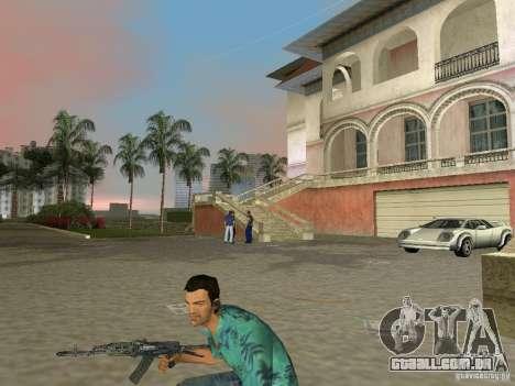 Superior Parque Nacional armas para GTA Vice City por diante tela