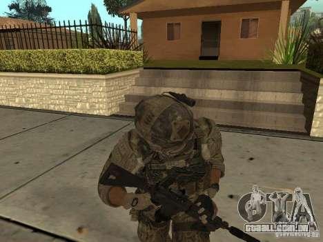 M4A1 com ACOG de CoD MW3 para GTA San Andreas por diante tela
