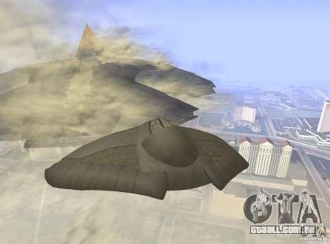 Death Glider para GTA San Andreas vista direita