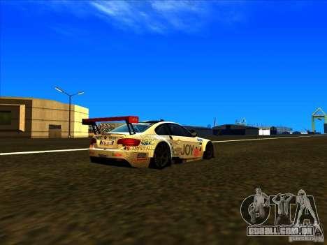 BMW M3 GT ALMS GT2 Series para GTA San Andreas esquerda vista