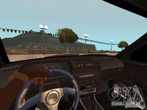 BESTA ВАЗ 2114 para GTA San Andreas traseira esquerda vista