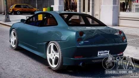 Fiat Coupe 2000 para GTA 4 vista direita