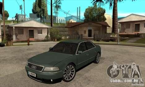 Audi A8 Long 6.0 2000 para GTA San Andreas