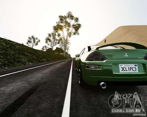 Mitsubishi Eclipse GT-S para GTA 4 traseira esquerda vista