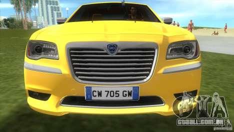 Lancia Nuova Thema para GTA Vice City deixou vista