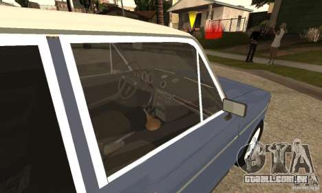 2106 VAZ velho v 2.0 para GTA San Andreas vista direita