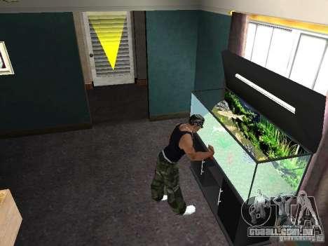 Aquário para GTA San Andreas sétima tela