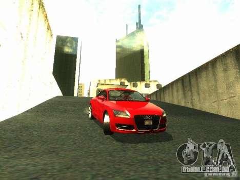 Audi TT 2009 v2.0 para GTA San Andreas esquerda vista