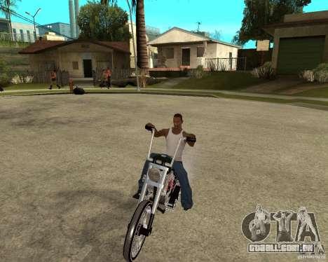 C&C chopeur para GTA San Andreas vista traseira