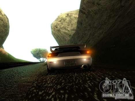 Mazda RX-7 TypeR para GTA San Andreas vista traseira