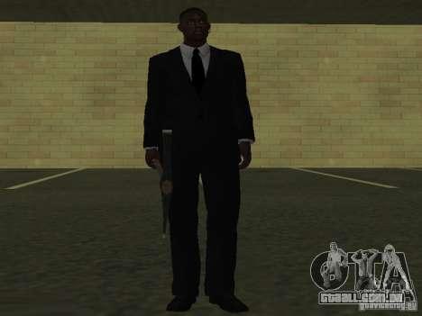 Os guarda-costas para GTA San Andreas quinto tela