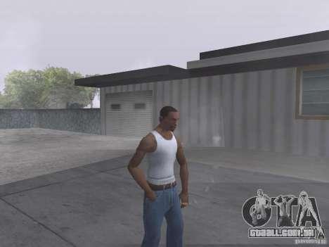 A capacidade de fumo para GTA San Andreas segunda tela