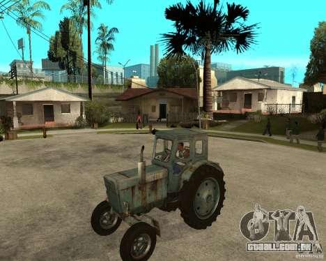 Trator Т-40М para GTA San Andreas