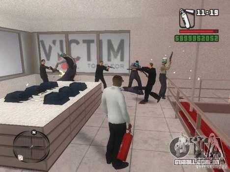 Gangs mod para GTA San Andreas