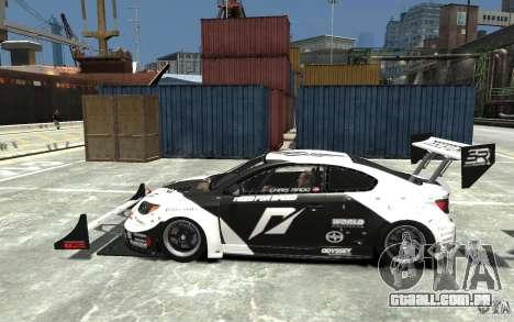 Scion tC AWD V1.0 para GTA 4 esquerda vista