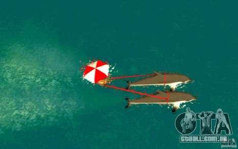 FlexyDolphin para GTA San Andreas traseira esquerda vista