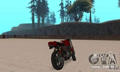 IZH Planeta 5 para GTA San Andreas esquerda vista