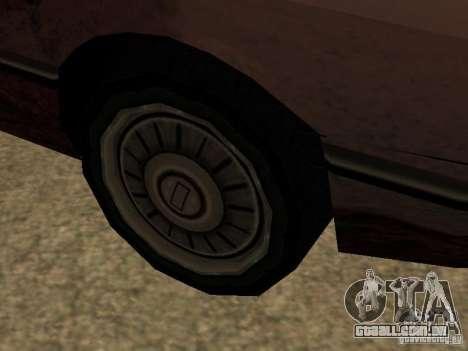 Danos realistas para GTA San Andreas quinto tela