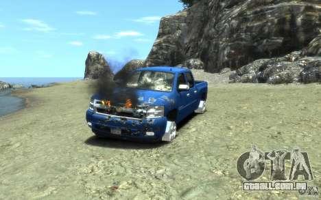 Chevrolet Silverado 2008 para GTA 4 interior