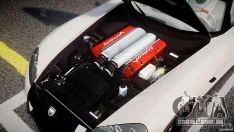 Dodge Viper SRT-10 ACR 2009 v2.0 [EPM] para GTA 4 vista de volta
