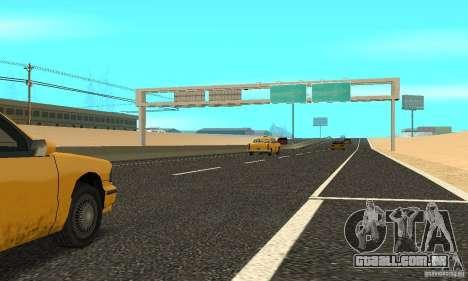 Uma nova superfície de estrada (superfície) para GTA San Andreas