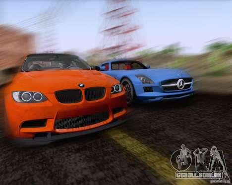 BMW M3 GT-S Fixed Edition para GTA San Andreas vista interior