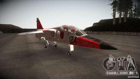 Mitsubishi T-2 para GTA San Andreas vista traseira