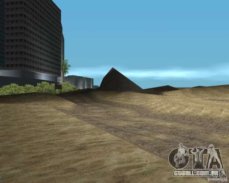 Novas texturas de VC GTA United para GTA San Andreas por diante tela