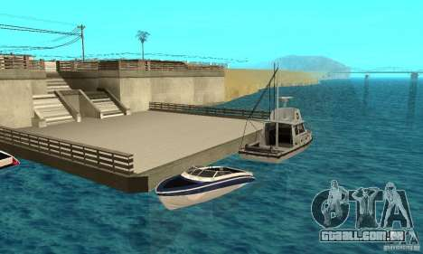 GTAIV Tropic para GTA San Andreas vista inferior