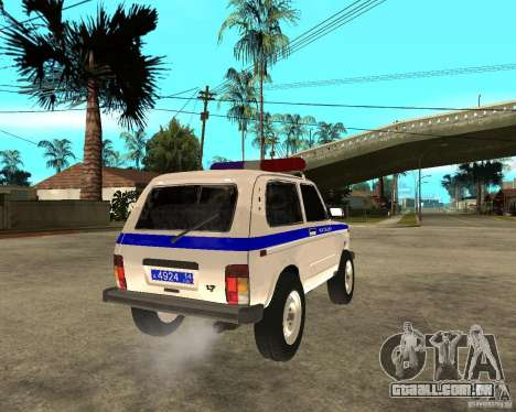 VAZ 2121 polícia para GTA San Andreas