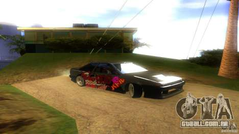 Toyota AE86 Coupe - Final para GTA San Andreas vista direita