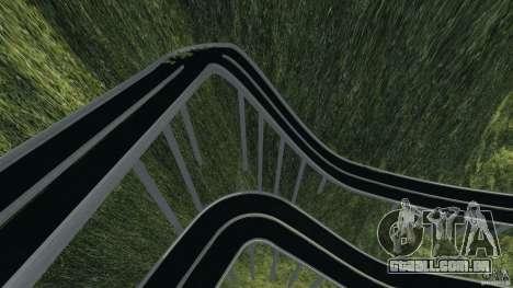 MG Downhill Map V1.0 [Beta] para GTA 4 por diante tela